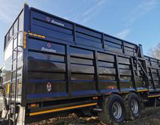 Broughan 18 tonne silage trailer