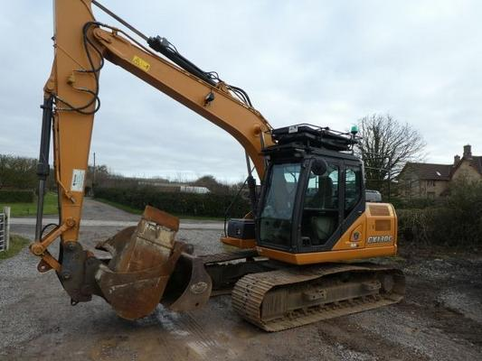 Case  cx130c tracked digger