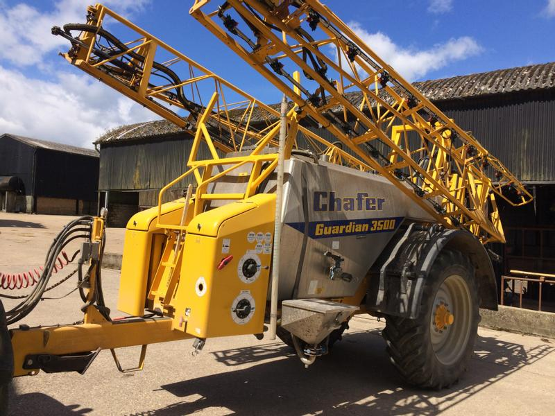 2012 Chafer  Guardian 3500l trailed sprayer