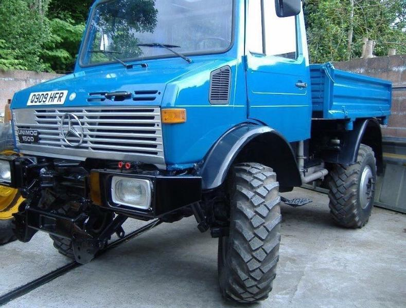 Mercedes-Benz Unimog U1500 Turbo