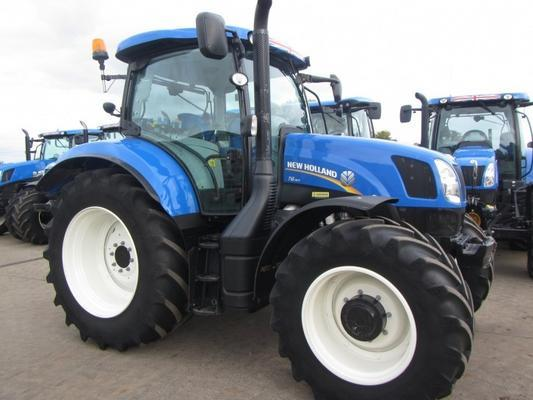 New Holland T6.160, 04/2014, 2,100 hrs