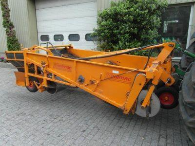 A used onion harvester.