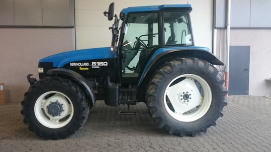 used new holland 8160