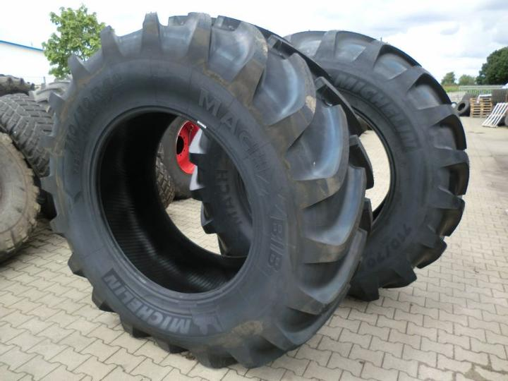 Used tyres.