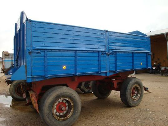 A used tipper.