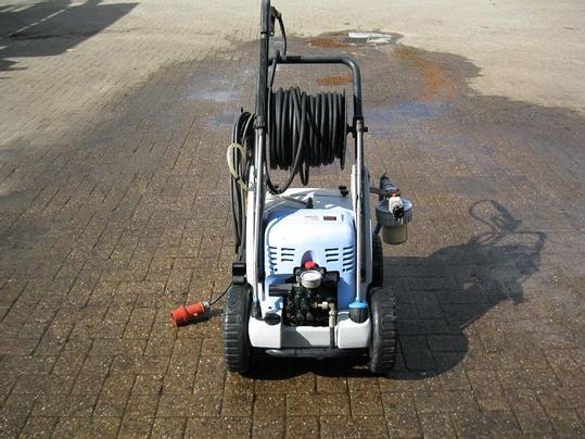 A used pressure washer.