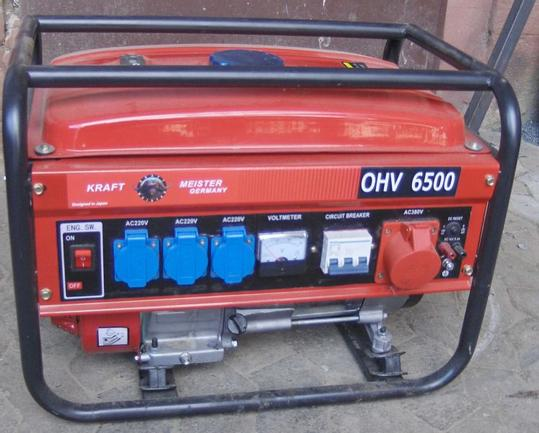 A used generator.