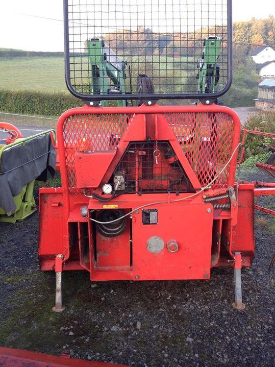 A used forestry winch.